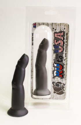 Анальный палец на присоске, черный 427002ru