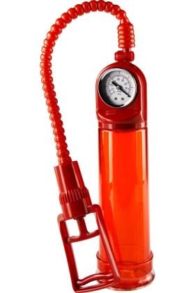 Помпа Toy Joy Pump Master с манометром, красная