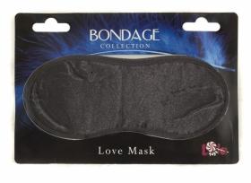 Маска на глаза Bondage, черная