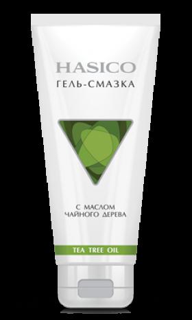 Hasico гель-смазка с маслом чайного дерева