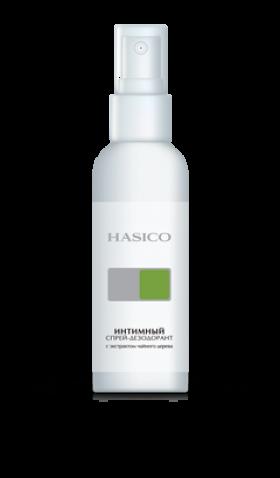 Hasico интимный спрей-дезодорант с экстрактом чайного дерева