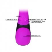 Водонепроницаемый вибратор Verna розовый, BI-014258