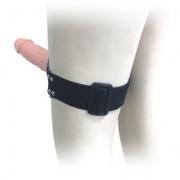 Страпон на колено или бедро